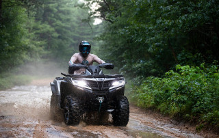 cforce 1000 atv action
