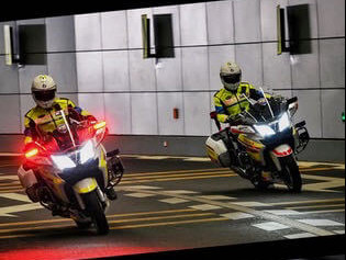 cfmoto police motorcycles